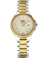Rotary LB90118-41 Ladies Les Originales Primrose Two Tone Gold Watch