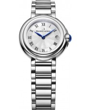 Maurice Lacroix FA1003-SS002-110 Ladies Fiaba Round Silver and Steel Watch