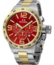 TW Steel CB73 Canteen Two Tone Chronograph Watch