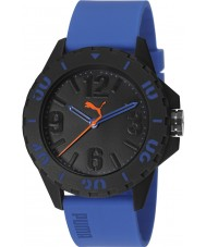 Puma PU103801003 Rock Blue Silicone Strap Watch