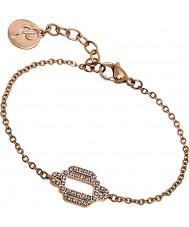 Edblad 31630028 Ladies Elvira Rose Gold Plated Bracelet