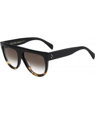 Celine Ladies CL 41026-S FU5 5I Black Tortoise Sunglasses