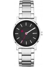 DKNY NY2268 Ladies Soho Black Silver Watch