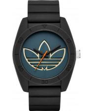 Adidas ADH3166 Santiago Black Silicone Strap Watch