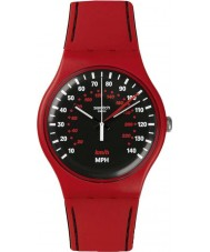 Swatch SUOR104 New Gent - Red Brake Watch