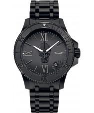 Thomas Sabo WA0197-202-203-44mm Mens Icon Black IP Steel Bracelet Watch