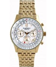 Krug-Baumen 400101DM Mens Airmaster Diamond White Gold Watch