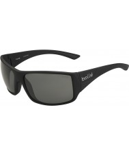 Bolle Tigersnake Shiny Black Polarized TNS Sunglasses