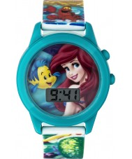 Disney Princess PN1165 Girls Ariel The LIttle Mermaid Singing Watch with Multicoloured Plastic Strap