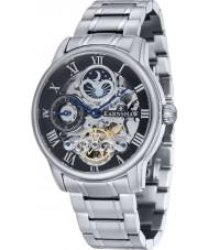 Thomas Earnshaw ES-8006-11 Mens Longitude Silver Bracelet Automatic Watch