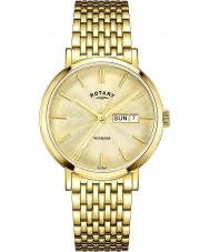 Rotary GB05303-03 Mens Timepieces Windsor Gold Plated Watch