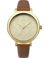 Oasis B1545 Ladies Tan Leather Strap Watch