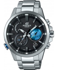 Casio EQB-600D-1A2ER Mens Edifice Solar Powered Silver Steel Bracelet Watch
