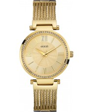 Guess W0638L2 Ladies Soho Gold Plated Bracelet Watch