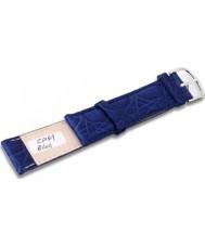 Krug Baümen CP49BlueL Neon Blue Leather Replacement Ladies Principle Strap