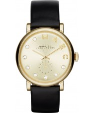 Marc Jacobs MBM1399 Ladies Baker Dexter Gold Black Watch