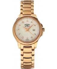 Rotary LB90120-41 Ladies Les Originales Primrose Rose Gold Watch