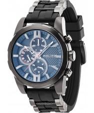 Police 14541JSB-02PA Mens Matchcord Black Plastic Strap Watch