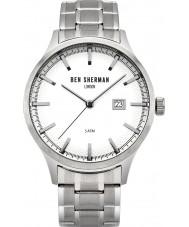 Ben Sherman WB056SM Mens Spitalfields Sport Silver Steel Bracelet Watch