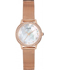 Guess W0647L2 Ladies Chelsea Rose Gold Mesh Watch