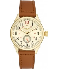 Minster 1949 MN03GLGL10 Mens Boyland Tan Leather Strap Watch
