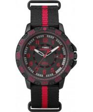 Timex TW4B05500 Mens Gallatin Black Nylon Strap Watch
