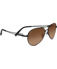 Serengeti Brando Satin Black Drivers Gradient Sunglasses