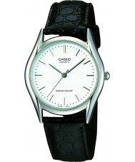Casio MTP-1154PE-7AEF Mens Collection Black Leather Strap Watch