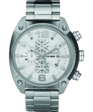 Diesel DZ4203 Mens Overflow Silver Chronograph Watch