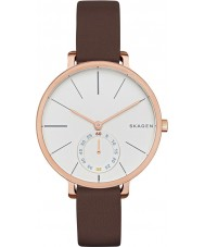 Skagen SKW2356 Ladies Hagen Chocolate Leather Strap Watch