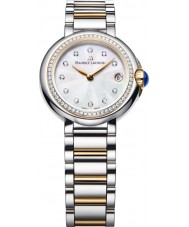 Maurice Lacroix FA1003-PVP23-170-1 Ladies Fiaba Round Two Tone Watch with Diamonds