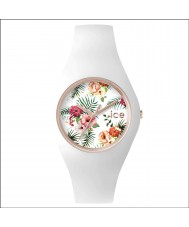 Ice-Watch ICE.FL.LEG.S.S.15 Ladies Ice-Flower White Silicone Strap Small Watch