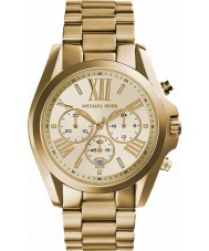 Michael Kors MK5605 Ladies Lexington Gold Plated Chronograph Watch