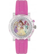 Disney Princess PN1067 Girls Princess Flashing Watch with Pink Glitter Band
