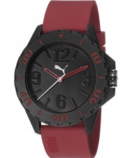 Puma PU103801004 Rock Red Silicone Strap Watch