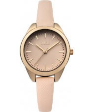 Oasis B1546 Ladies Nude Leather Strap Watch