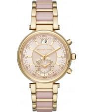 Michael Kors Ladies Sawyer Two Tone Steel Bracelet Watch