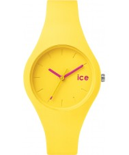 Ice-Watch 000996 Ice-Ola Small Neon Yellow Silicone Strap Watch
