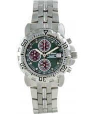 Krug Baümen 241269DM-GN Mens Sportsmaster Diamond Green Dial