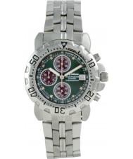 Krug-Baumen 241269DM-GN Mens Sportsmaster Diamond Green Dial