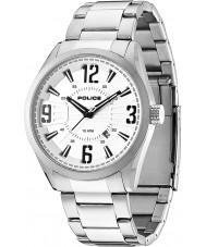 Police 13893JS-04M Mens Memphis Silver Steel Bracelet Watch