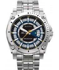Bulova 96B131 Mens Precisionist Champlain Silver Watch