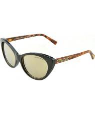 Michael Kors MK2014 54 Glam Black Brown Tortoise 30655A Sunglasses