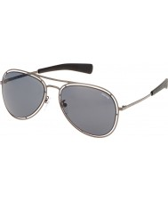 Police Mens Offside 3 S8960-627 Matt Gunmetal Sunglasses