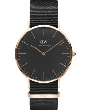 Daniel Wellington DW00100148 Classic Black Cornwall 40mm Watch