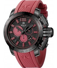 Metal CH Mens Chronosport Red Ghost Watch