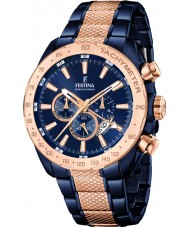 Festina F16886-1 Mens Prestige Two Tone Steel Chronograph Watch