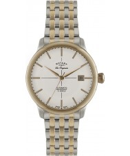 Rotary GB90061-06 Mens Les Originales Burlington Two Tone Automatic Watch