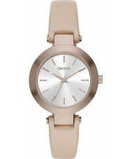DKNY NY2457 Ladies Stanhope Light Brown Leather Strap Watch