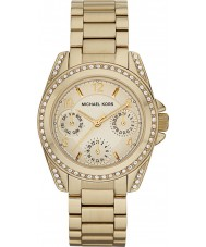 Michael Kors MK5639 Ladies Blair Gold Plated Chronograph Watch